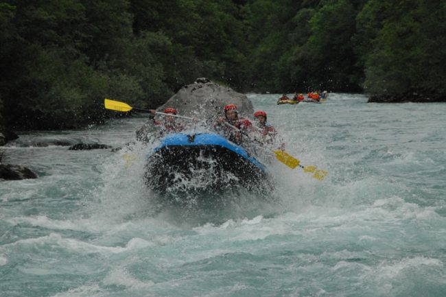 Da li mogu na rafting iako sam neplivač?