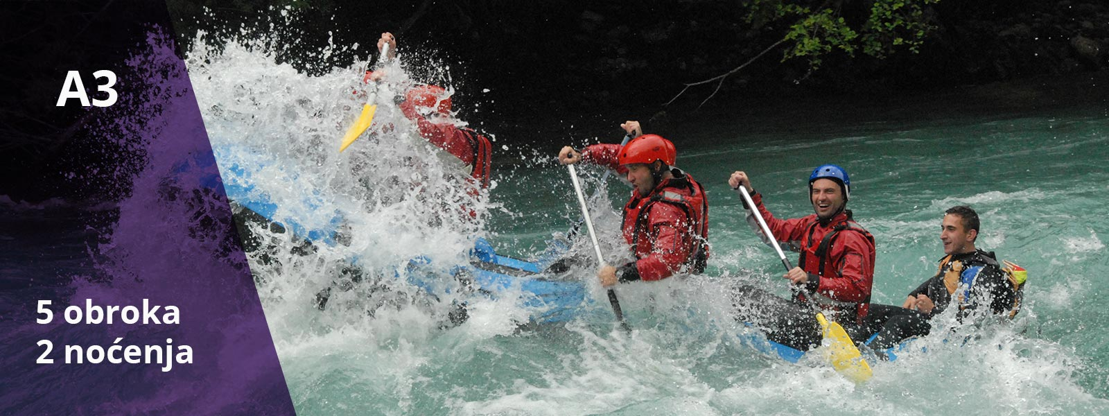 Rafting aranzman Adrenalin 3