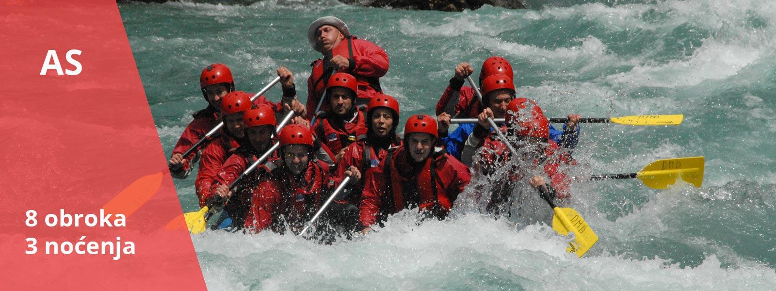 Rafting aranzman Adrenalin Specijal