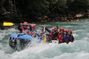 Rafting kamp DMD